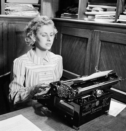 Social Implications From Handwriting To Typewriting
